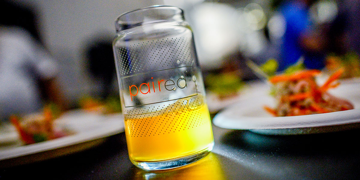 PAIRED LA CRAFT BEER AND FOOD