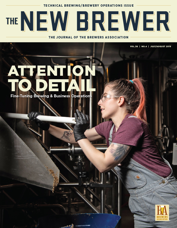 July August 2019 The New Brewer